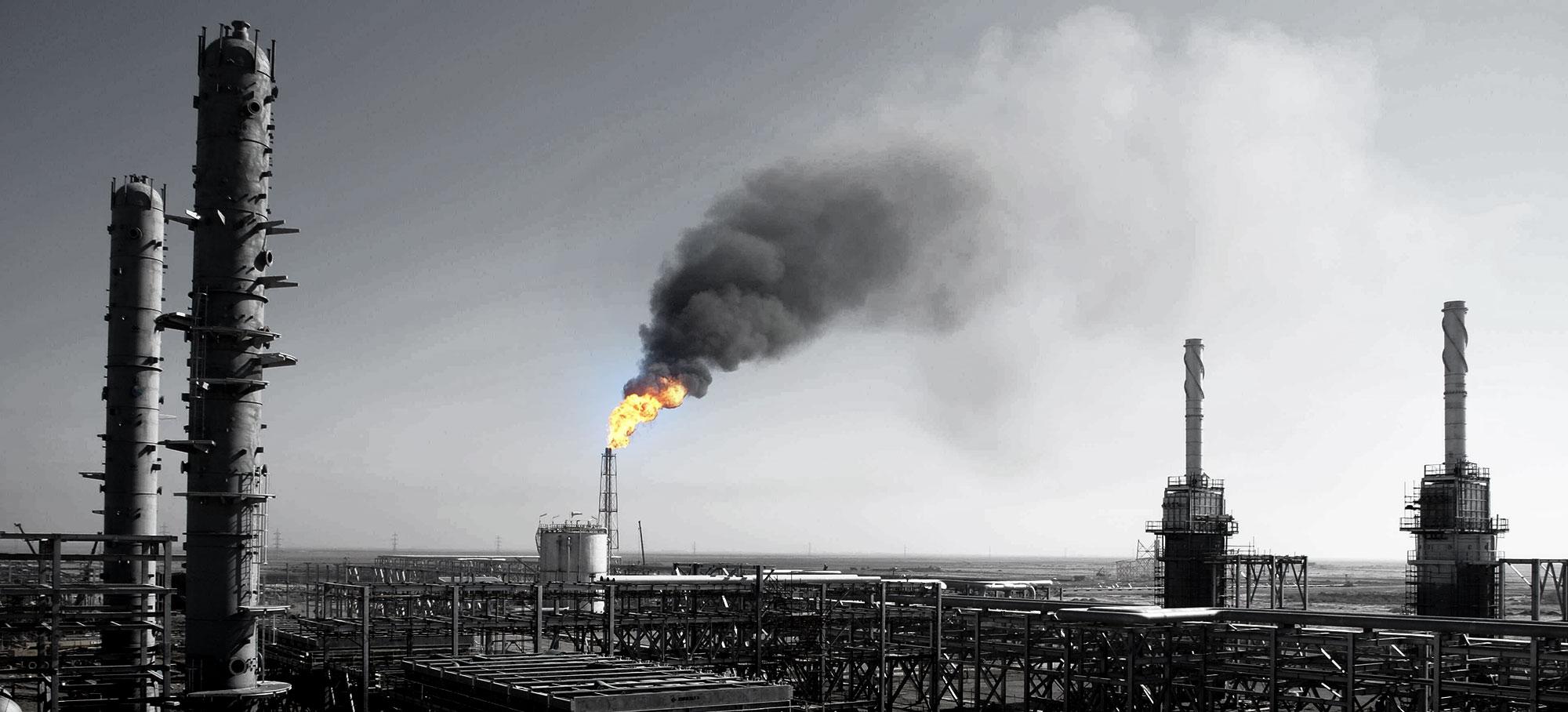 عزم جدی وزارت نفت برای به صفر رساندن میزان سوختن گازهای همراه نفت